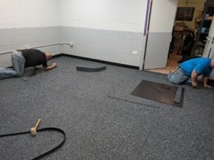 install intelli-force magnetix IOBAC magnetic flooring