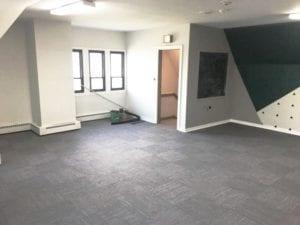 IOBAC magnetic flooring intelli-force magnetix church installation