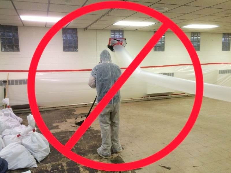Project Spotlight: Isolation of Asbestos at Park Ridge Presbyterian Church