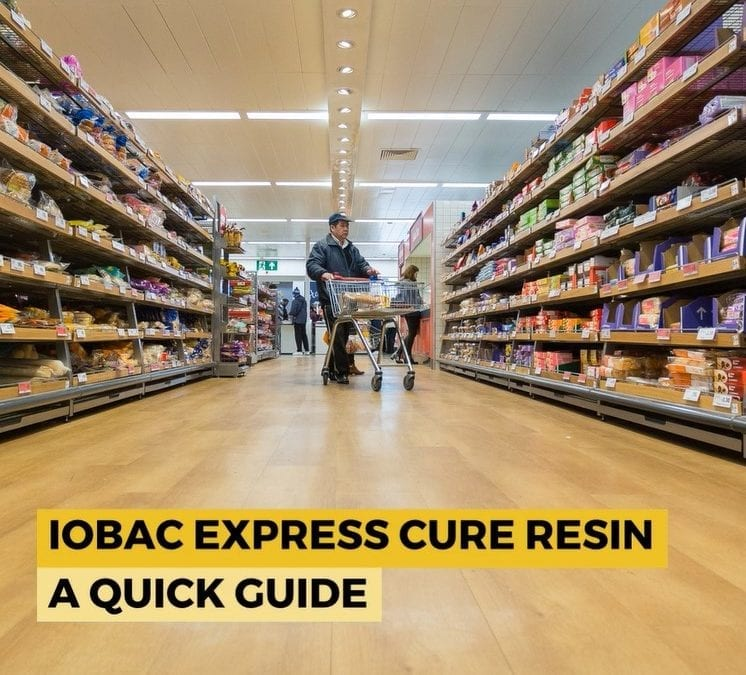 IOBAC Express Cure Resin: Quick Guide to Installation