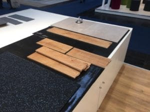 IOBAC Magnetic flooring - Domotex 2020 - flooring on Ezy-Install