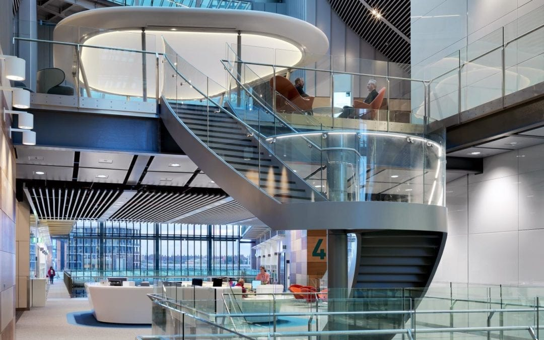Case Study: Sustainable Workplace Chooses IOBAC Adhesive-Free Flooring