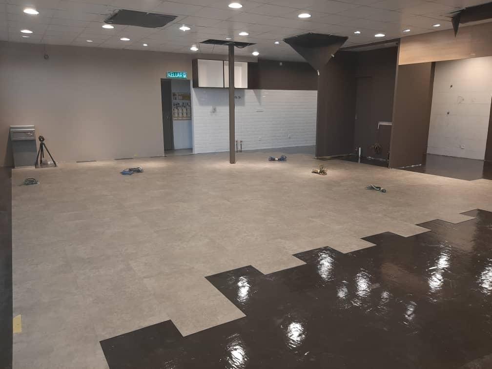 Shell Malaysia - IOBAC adhesive-free flooring - LVT